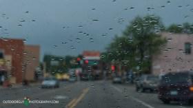Raindrops on the Windsheild