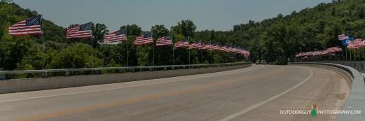 Bridge over Zumbro River in Millville, MN
