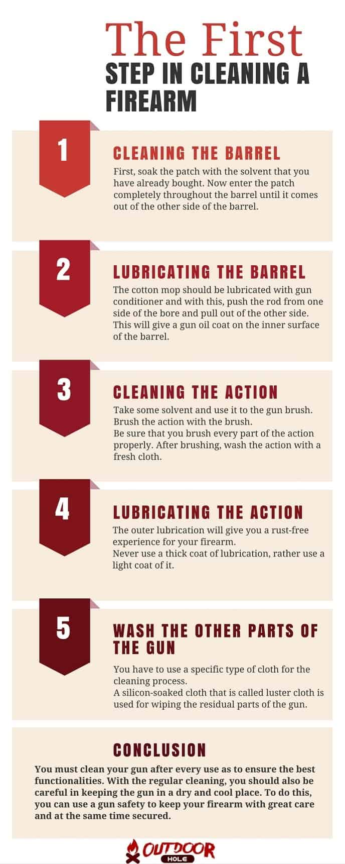 infographic-what-is-the-first-step-in-cleaning-a-firearm-step-by-step