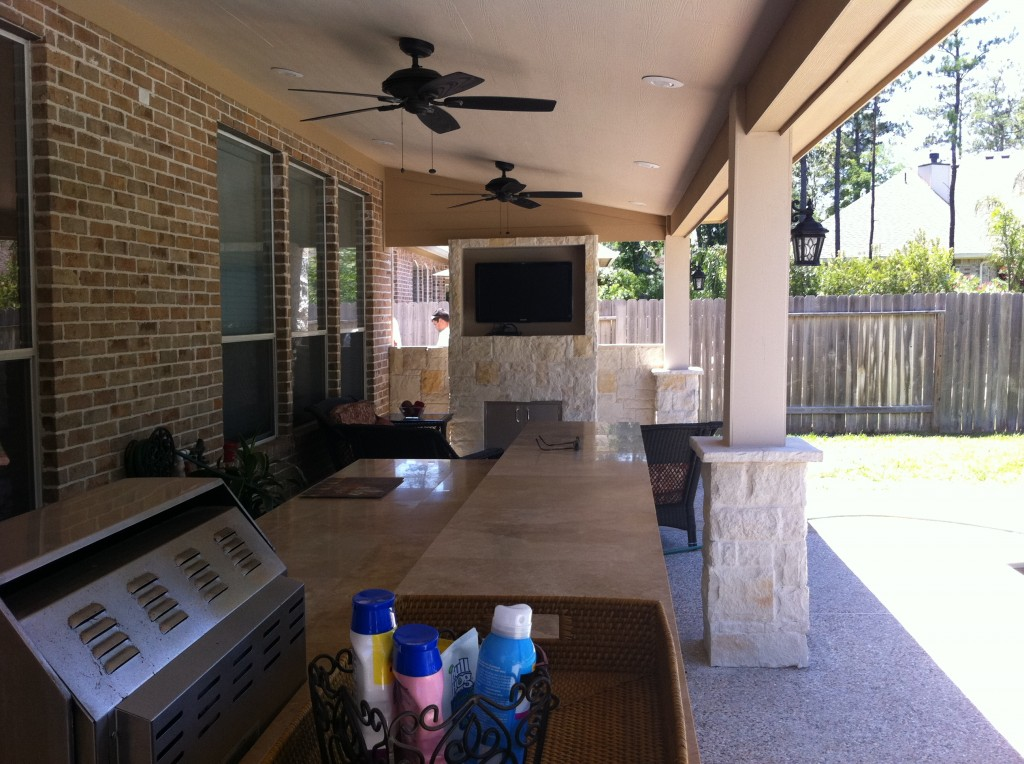 4 FootballFriendly Houston Patio Covers