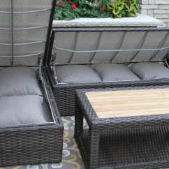 Sofas With Storage Under 10 Seater Sofa Dimension 3pc Teak And Brown Wicker Sectional Set