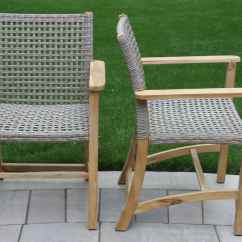 Sofa Lounger Outdoor Henredon Charisma Teak & Wicker Furniture Collection From Interiors