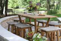 Teak And Eucalyptus Wood Outdoor Furniture Torches