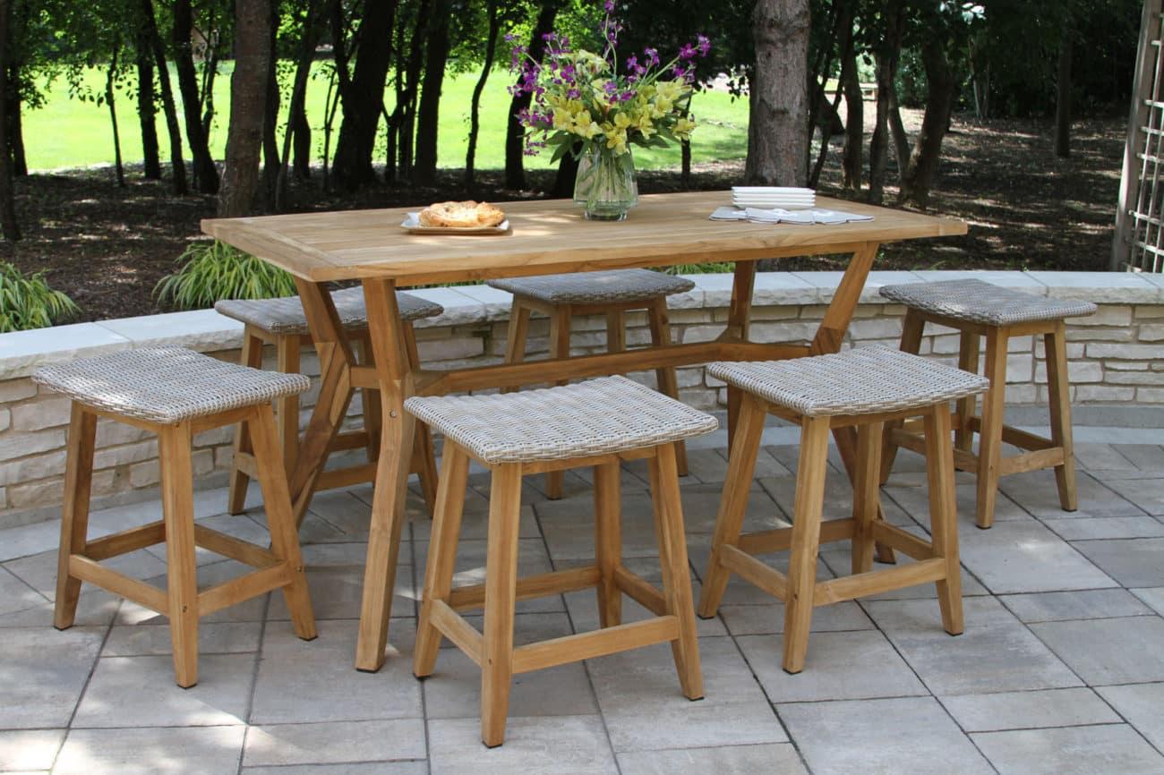 teak wicker furniture outdoor interiors