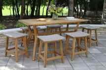 Teak & Wicker Furniture Collection Outdoor Interiors