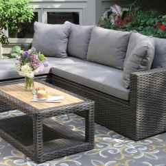 Outdoor Sofa Set Simmons Sleeper With Storage Home The Honoroak