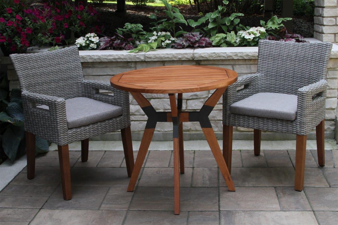 bistro sets outdoor interiors