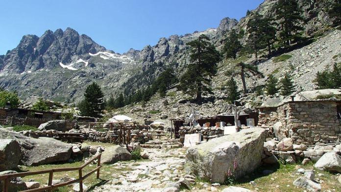 Berghütte Korsika