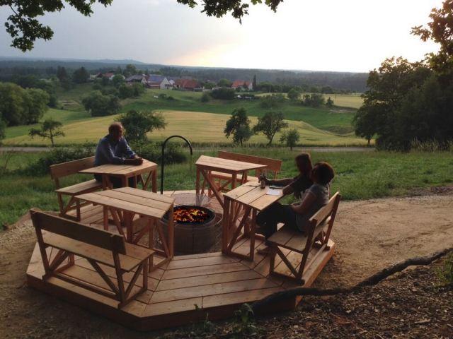 baumhaushotel rosenberg abenteuer und natur pur ganz weit oben. Black Bedroom Furniture Sets. Home Design Ideas