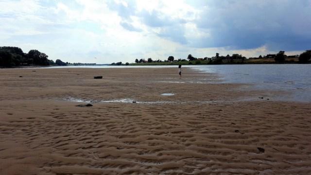 ein toller Strand bei Ebbe