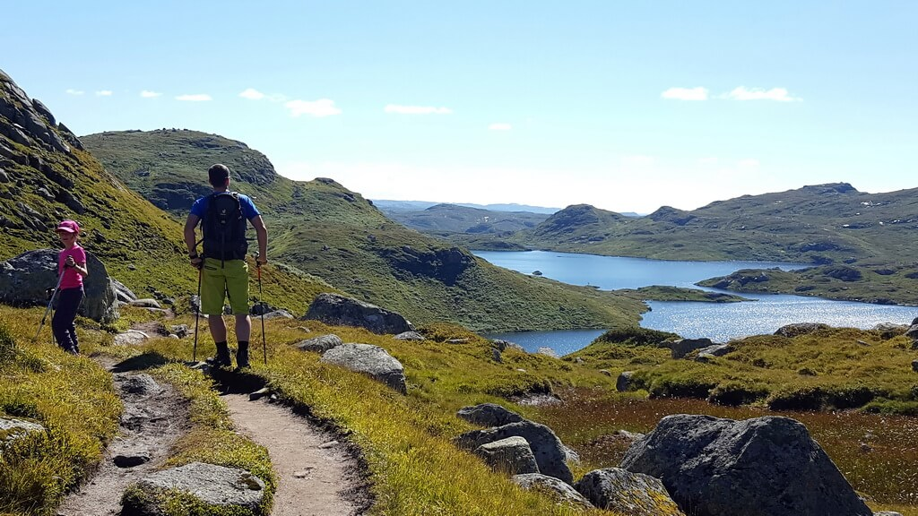 Wanderung Setesdalsheiane