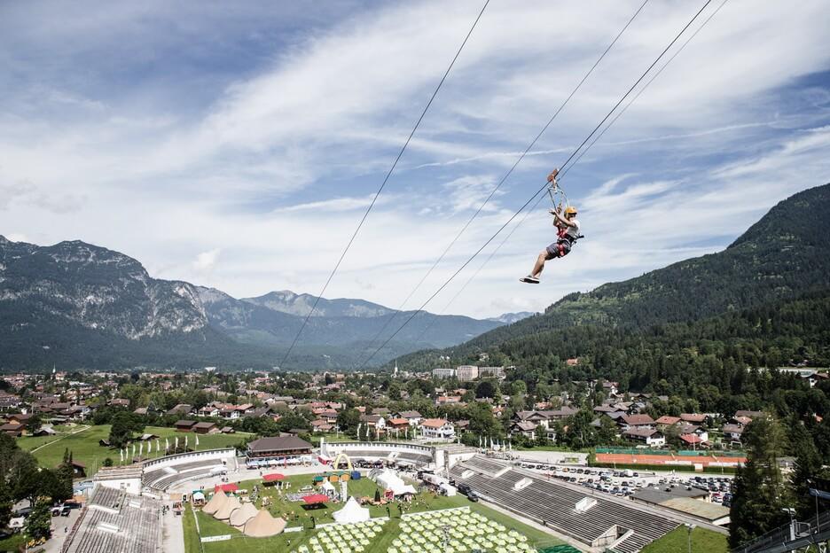 Klettersteigset Leihen Garmisch Partenkirchen : Garmisch partenkirchen mit kindern hoch hinaus outdoorkid