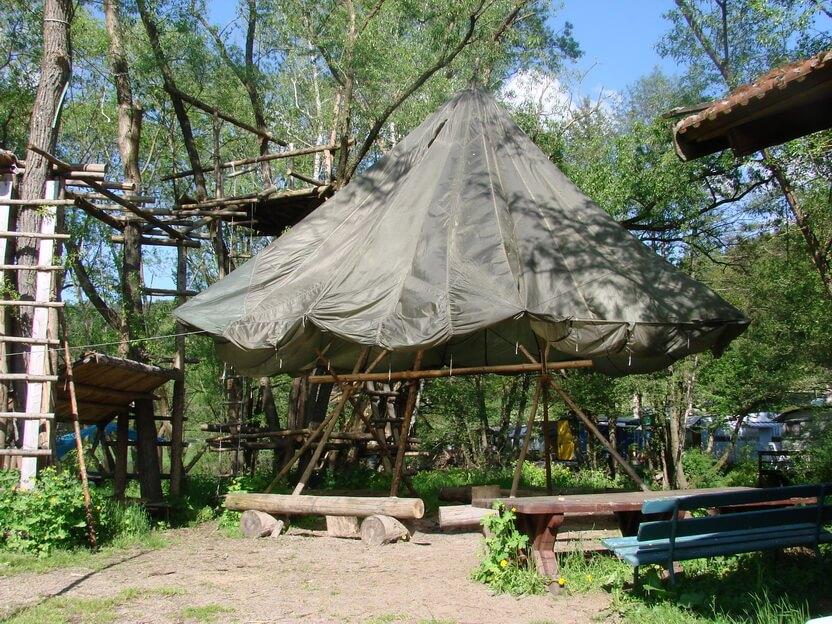 Adventure Camp Schnitzmuhle Wildnis Trifft Auf Wellnesscamping