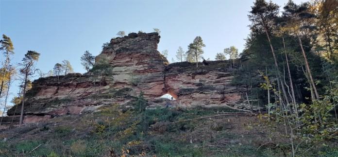 Dahner Felsenland wandern mit Kindern Dahner Felsenpfad
