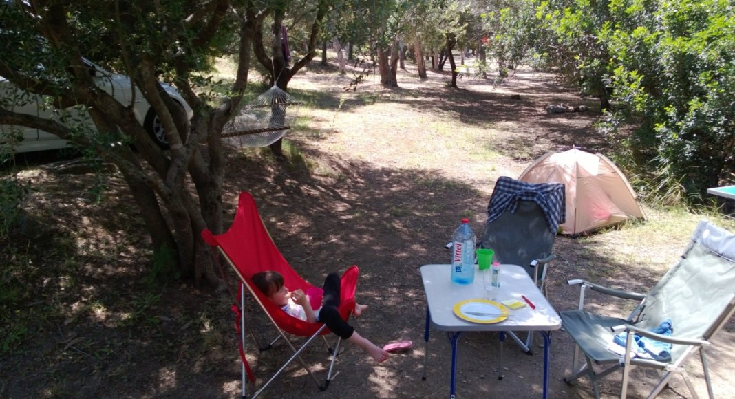 Camping auf Korsika mit Kindern