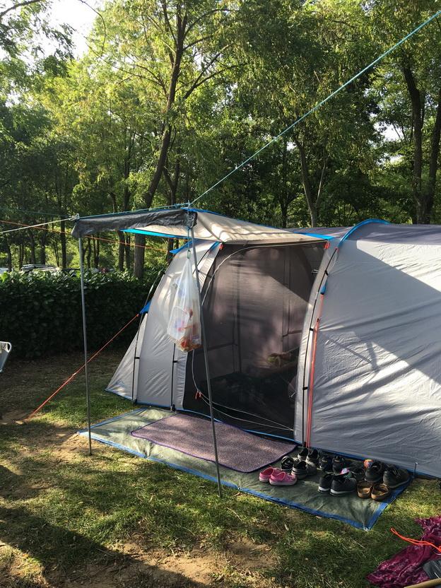 Campingplatz direkt an der Ardeche