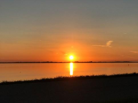 Sonnenuntergang Camping Vakantiepark De Zeeuwse Parel