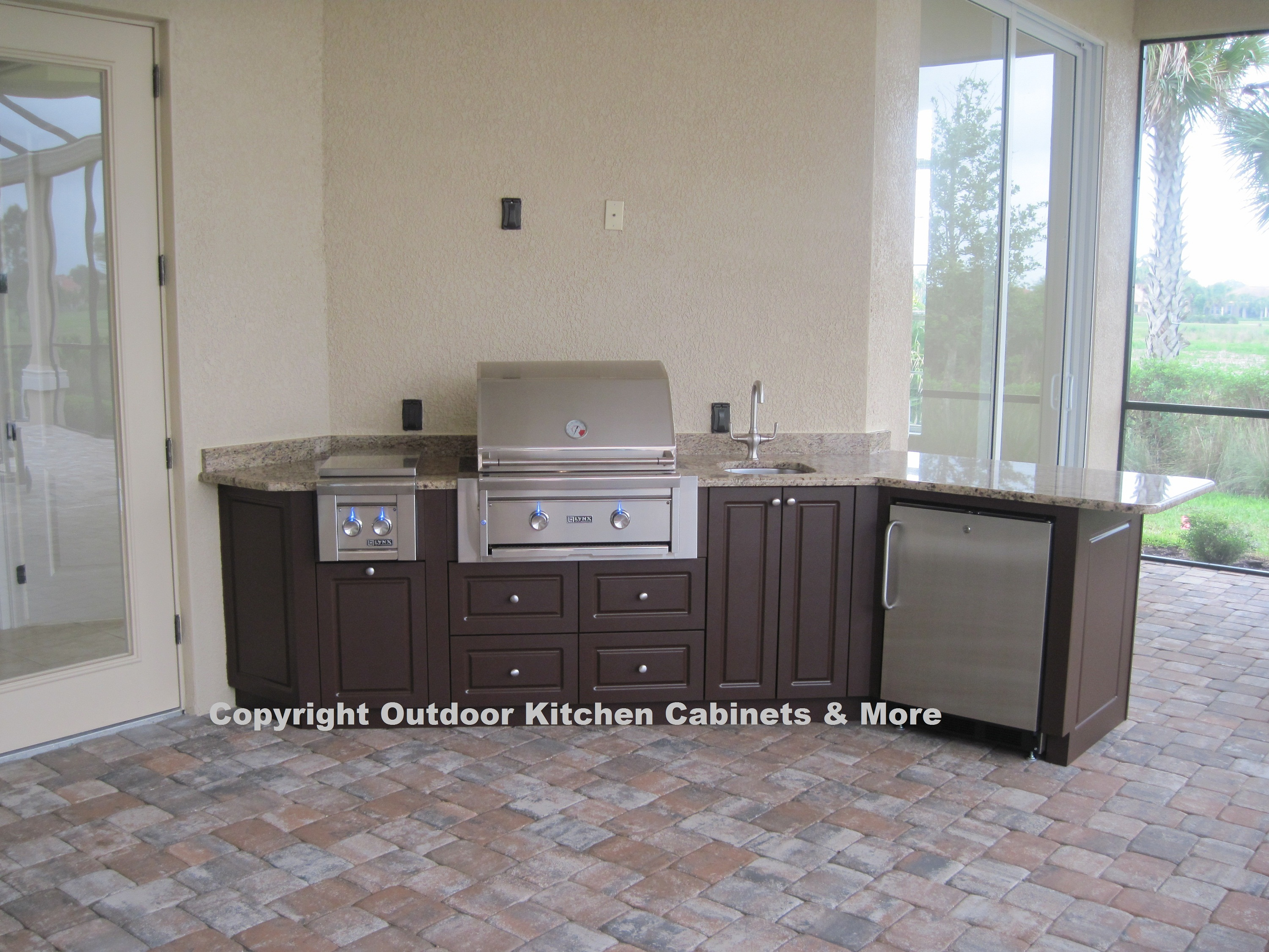 outside kitchen cabinets mission style hardware outdoor photo gallery
