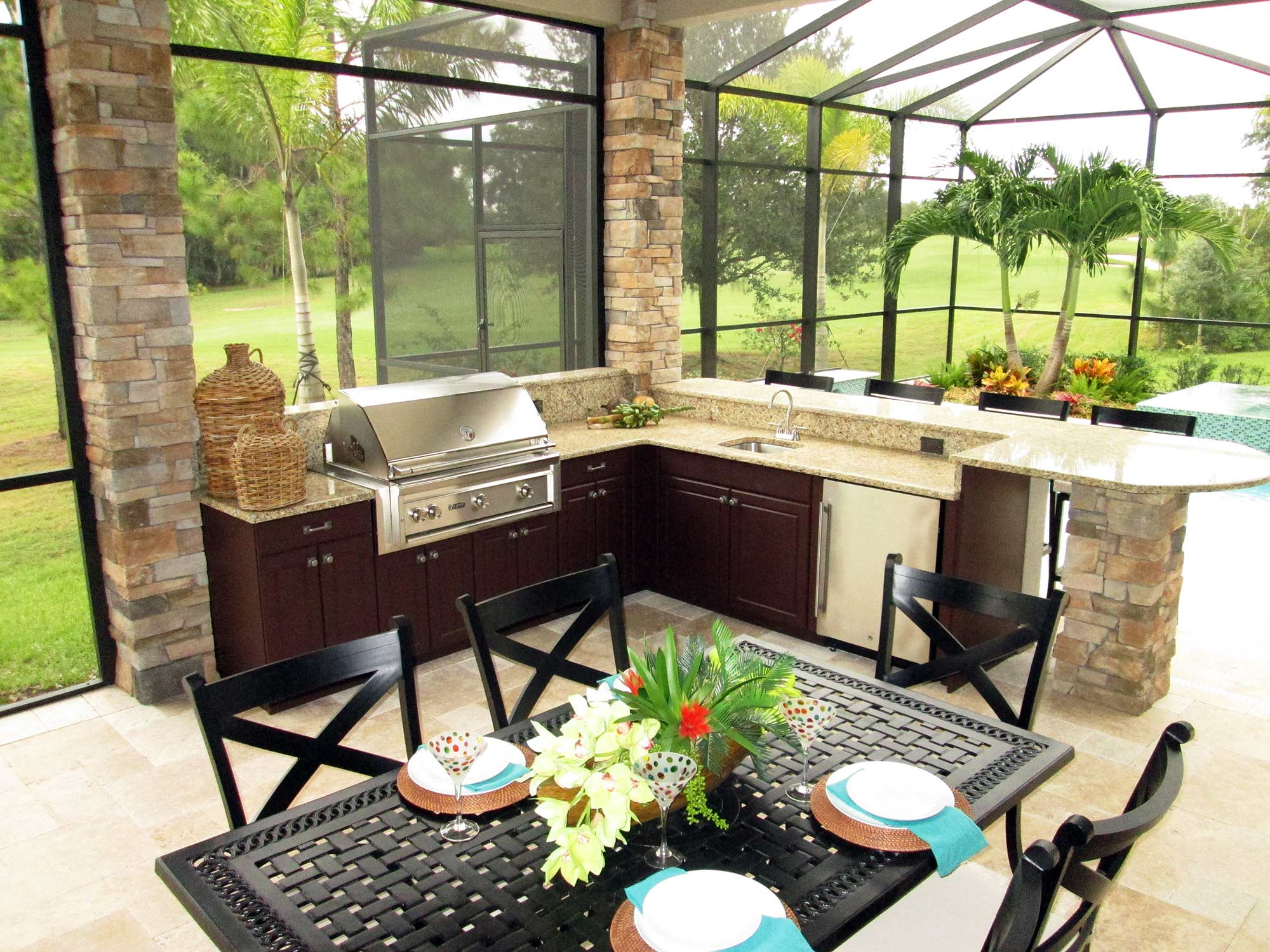 modern outdoor kitchen samsung cabinets more quality and