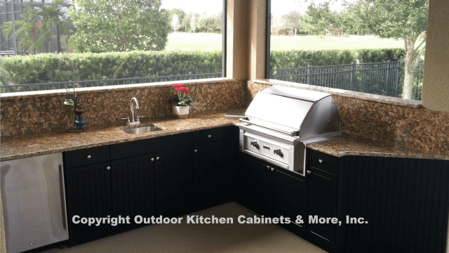 outdoor kitchen cabinets & more | quality outdoor kitchen cabinets