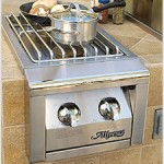 Alfresco Dual Side Burner Model #ALSB-2