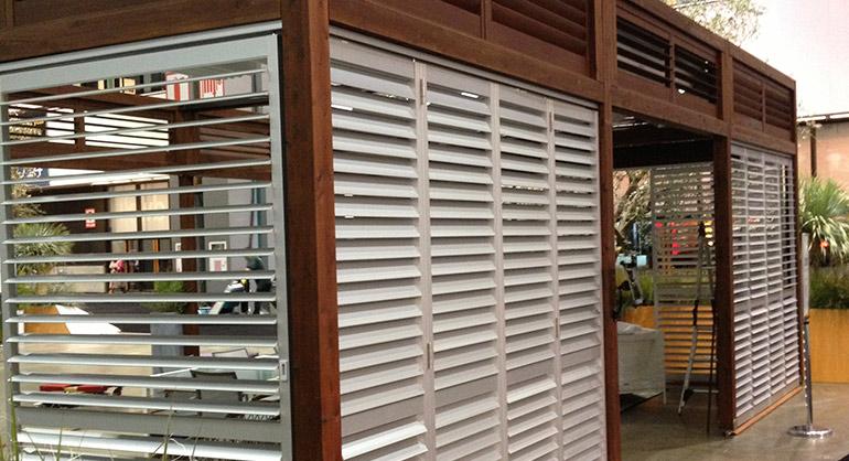 Aluminum Shutters  Outdoor Kitchens Northwest