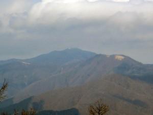 雲取山だ!
