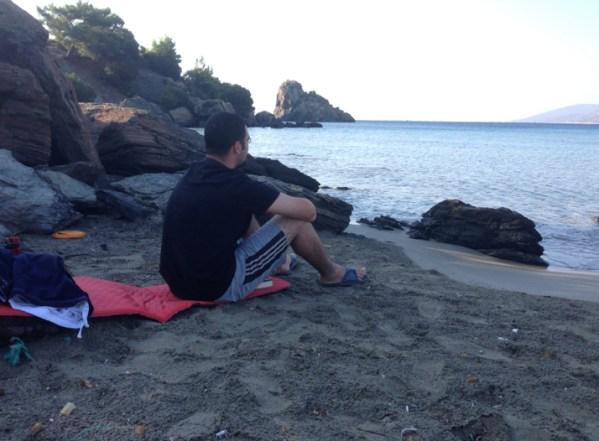 Mediterranean sea solitude outdoor ministry