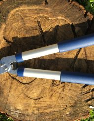 Mini geared bypass loppers