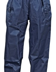 Children's Navy Blue Over Trousers by Dry Kids