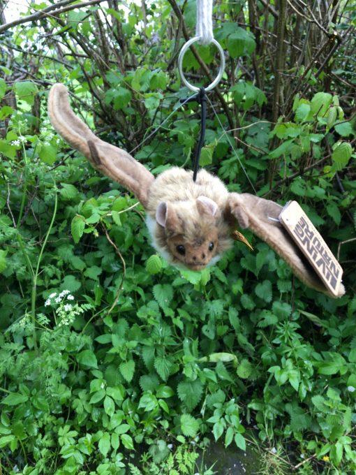 Living nature soft toy bat