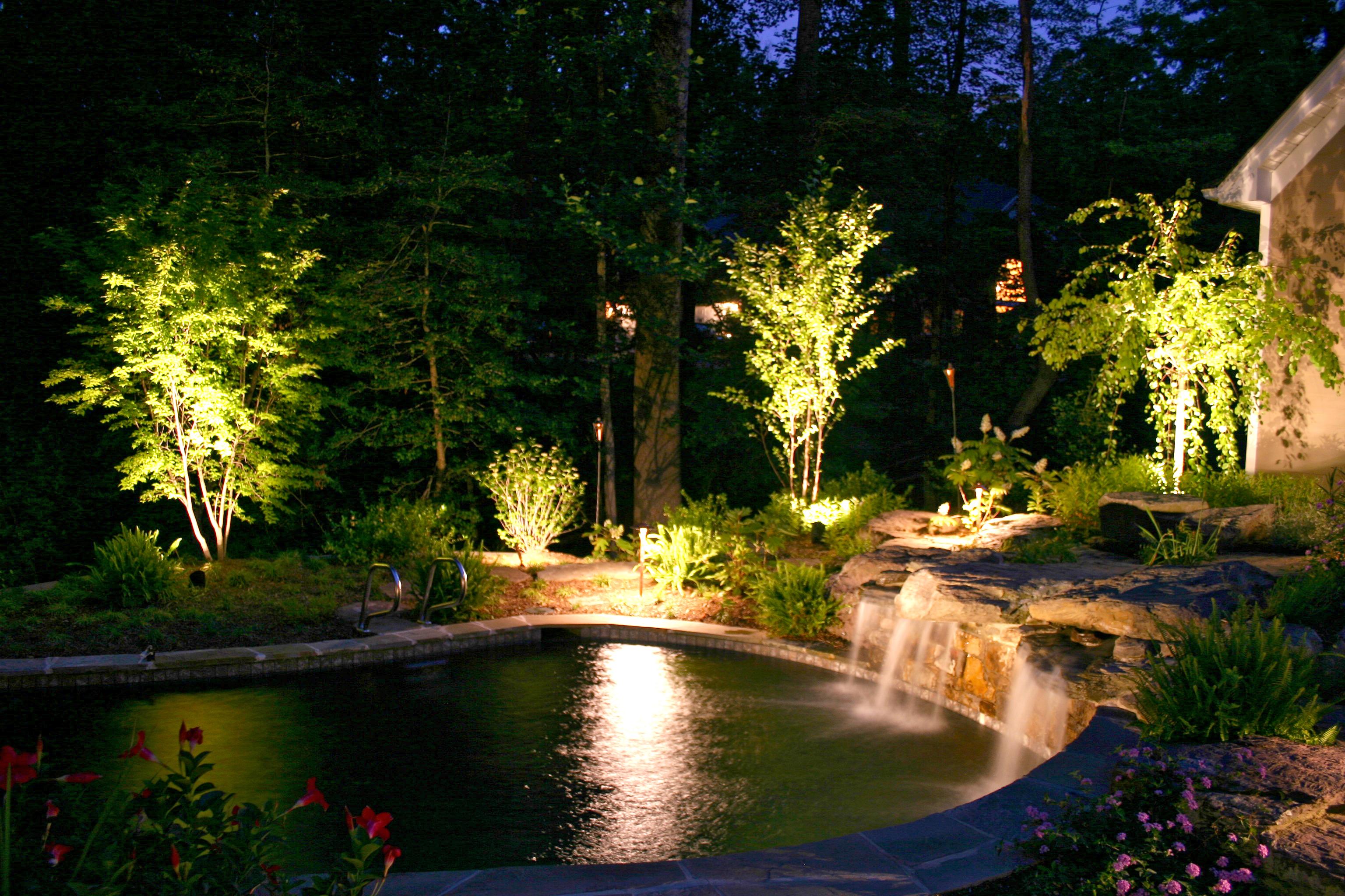 LED Pool Lights Nashville Outdoor Lighting Perspectives