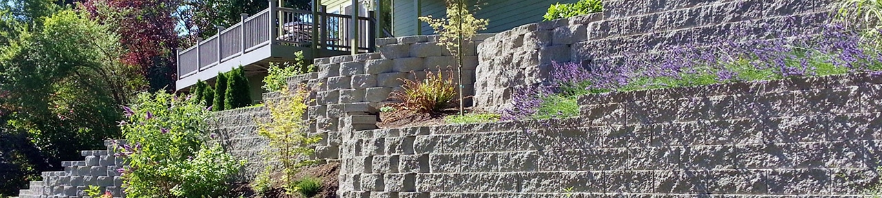 retaining walls, Woodinville