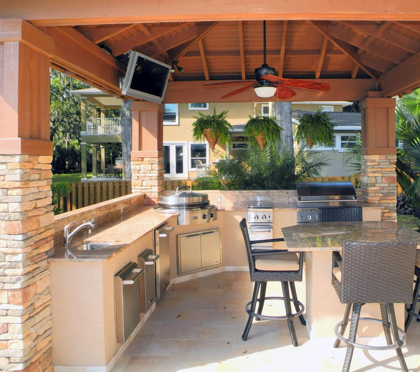 Evo Outdoor Kitchen Gallery  outdoorLUX