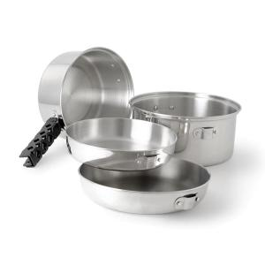 [GSI] Glacier Stainless Cookset Md 不銹鋼套鍋組 M (68206)