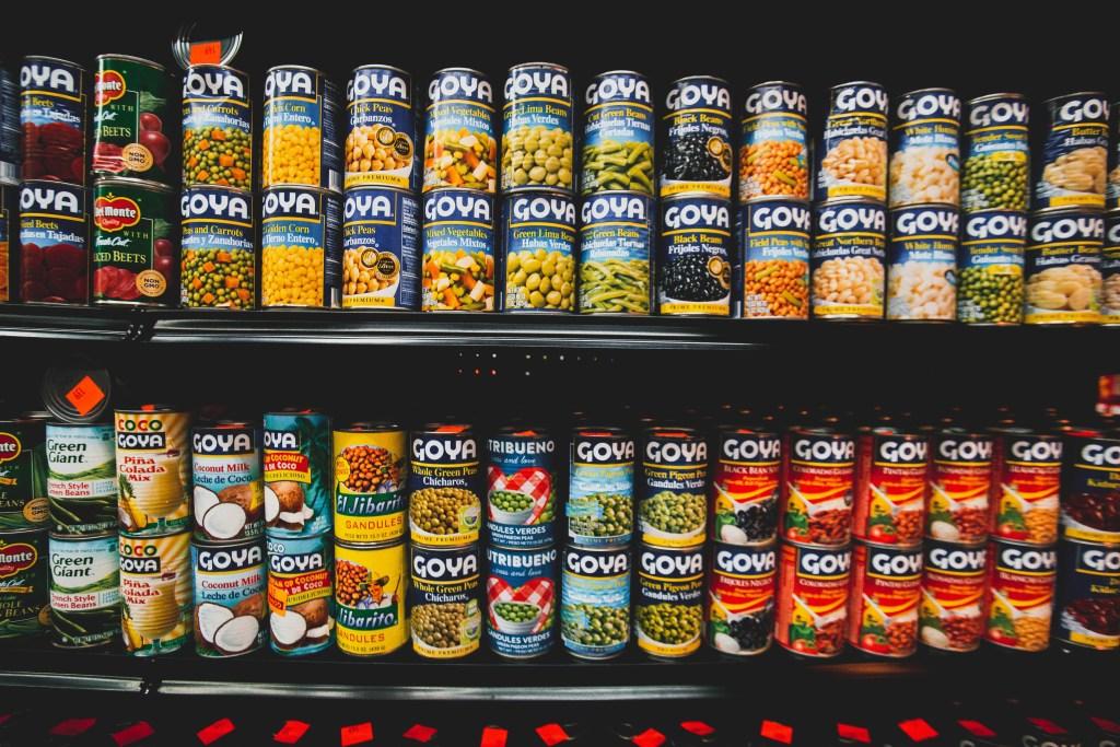 Haltbare Lebensmittel ohne Kühlung - Konserven