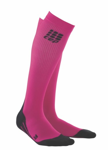CEP runnig compression socks pink
