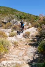 MTB Trails bei Marciana von Elba