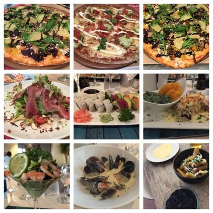 Essen in Südafrika ist extrem Vielfältig: Von ausgefallenen Pizza-Variationen bis zum leckeren Sushi