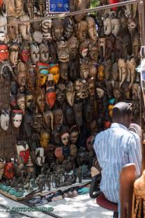 Markt in Südafrika