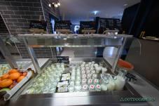 Frühstücksbuffet mit laktosefreien Produkten und Soja