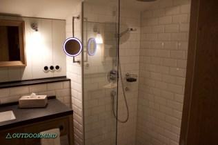 Dusche Badezimmer Hotel Löwen