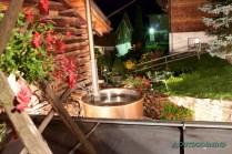 Badetopf in der Nacht beim Casa da Luzi
