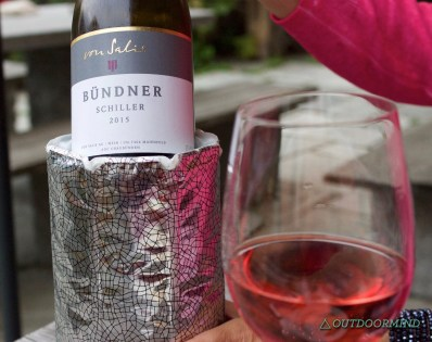 Bündner Schiller Rose Wein
