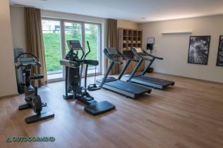 Fitnessraum im Ameron Hotel