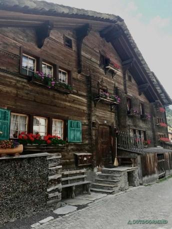 Walserhäuser in Vals