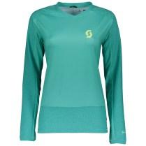 SCOTT Trail 20 L/SL Womens Shirt Longsleeve in baltic turqoise