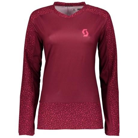SCOTT Trail 20 L/SL Womens Shirt Longsleeve in tibetan red