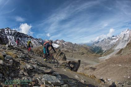 Hochalpine Lanschaft und einzigartige Trails im Stelvio National Trail Park