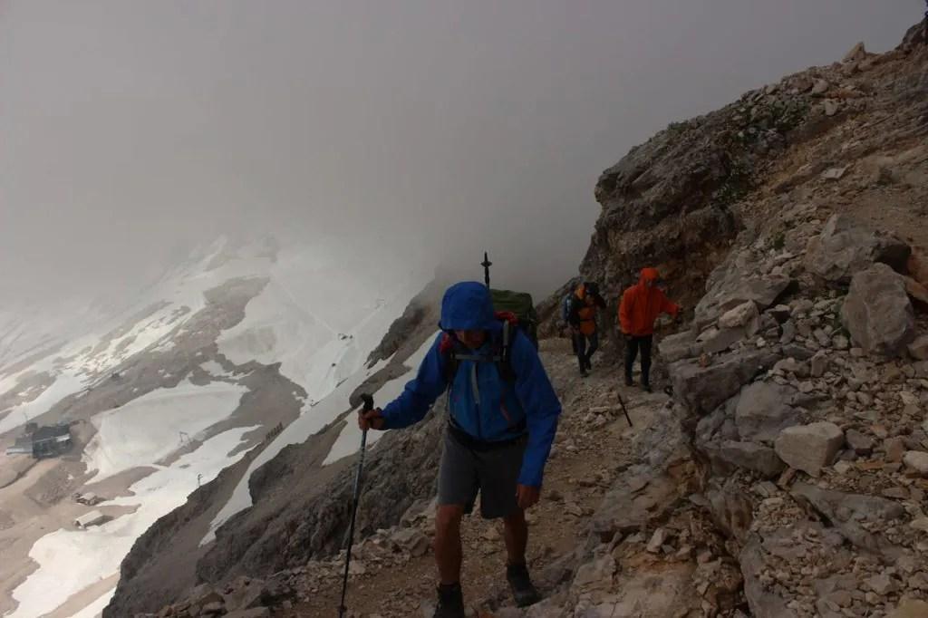 Aufstieg Alpen
